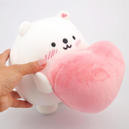 Polar Heart Plush Toy